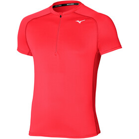 Mizuno ER Trail Half Zip Tee Men, ignition red
